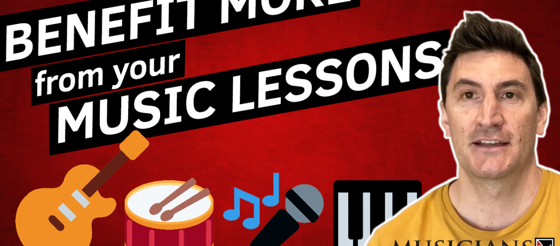 7 tips to make big gains from your music lessons YT THUMBNAIL