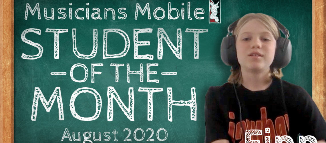 student of the month 2020 august YT THUMBNAIL