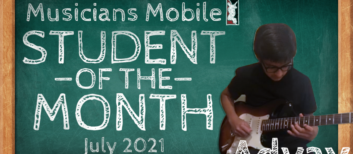 student of the month 2021 july